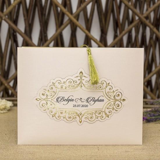 İklim Wedding Davetiye 8314