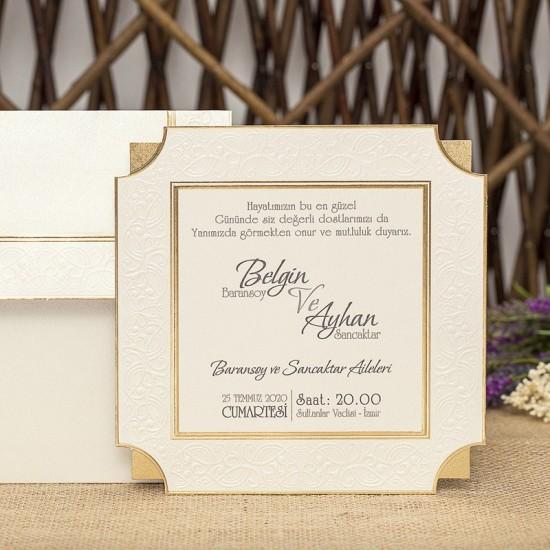 İklim Wedding Davetiye 8324