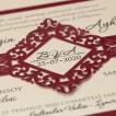 İklim Wedding Davetiye 8336