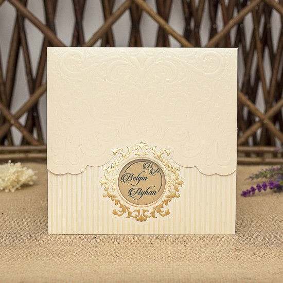İklim Wedding Davetiye 8356