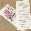 İklim Wedding Davetiye 8369