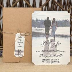 İklim Wedding Davetiye 8370