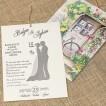 İklim Wedding Davetiye 8372