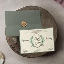 İklim Wedding Davetiye 8381