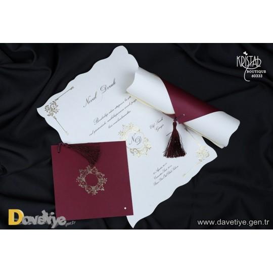 Kristal Davetiye 60333