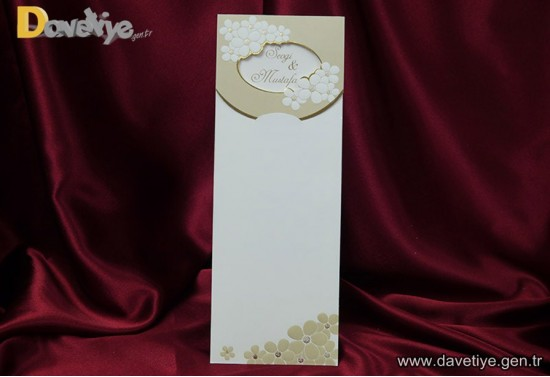 Orkide Davetiye 1058
